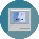 computer, finder, mac, machintosh, old icon