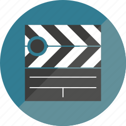 ciack, film, movie icon