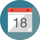 calendar, reminder icon