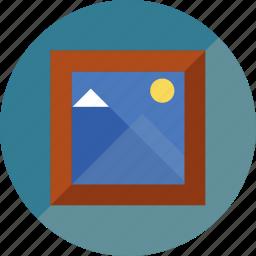 draw, framework, paint icon