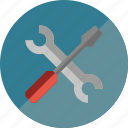 screwdriver, tool, tools, wrench icon