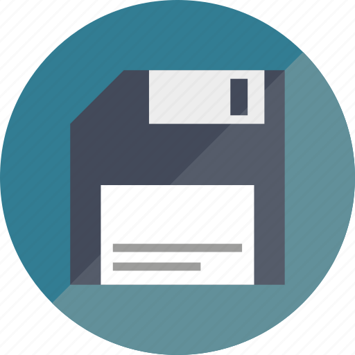 disk, floppy disk icon