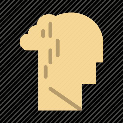 depression, grief, human, melancholy, sad icon