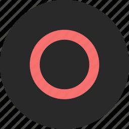 circle, console, gamepad, joystick, playstation 4, ps4 icon