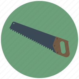 building, construction, cut, saw, tool, wood, working icon