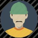 build, builder, building, construction, labourer, man, worker icon