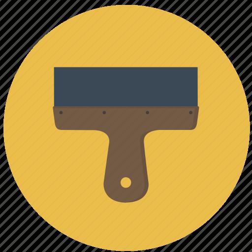 building, construction, paddle, scapula, spatula, tool icon