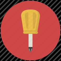 building, construction, repair, screw, screwdriver, tool, tools icon