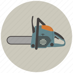 build, building, chainsaw, construction, saw, tool, tools icon