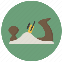 building, construction, plane, planer, tool, tools, wood plane icon