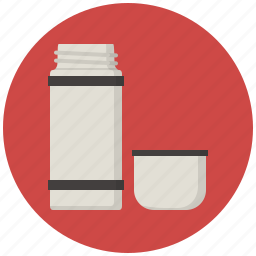 beverage, coffee, drink, hot drink, tea, thermo, thermos icon