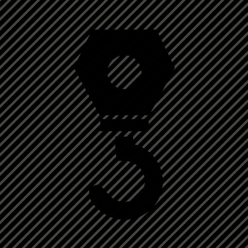 crane, hook, industry, logistic, logistics, pika, pixel perfect, simple icon