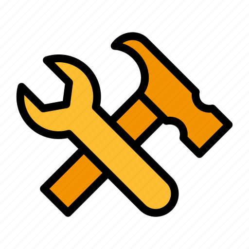 builder, construction, contractor, house, industrial, tools, worker icon