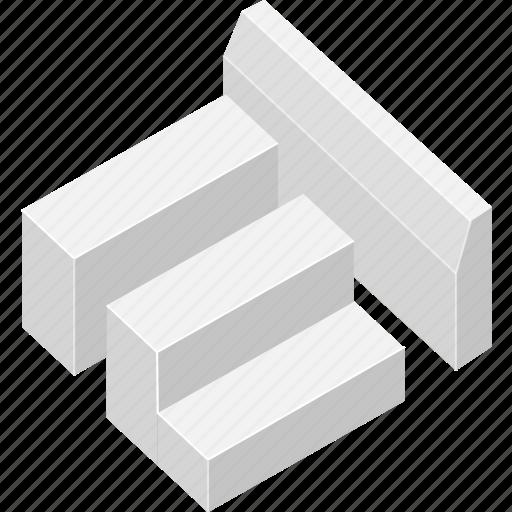 architecture, building, concrete, edifice, structure icon