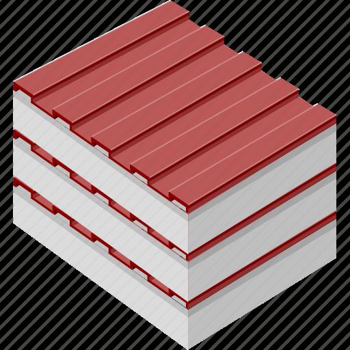 architecture, building, edifice, structure, tile icon