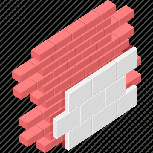 architecture, building, edifice, structure, wall icon