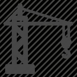 build, building, construction, crane, heavy equipment, machine, overhead crane icon