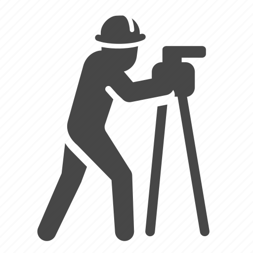 construction, gauge, measure, measuring, scale, work, worker icon