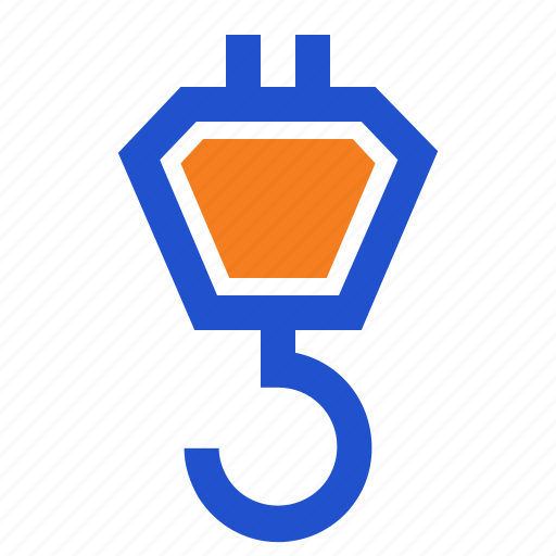 Construction, crane, hook, lifter, lifting icon - Download on Iconfinder