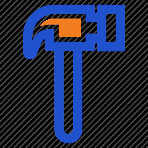 construction, hammer icon