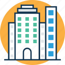 buildings, city buildings, commercial, commercial buildings, hotel, hotel flats, modern buildings icon