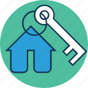 building key, home, house key, key, protection, security icon
