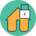 home protection, home security, house lock, padlock, password, privacy, security icon