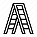 construction, stairs, tool icon