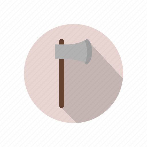 ax, building, business, construction, equipment, tool, work icon