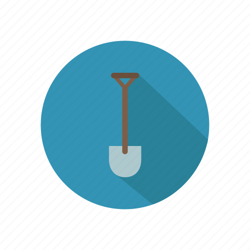 architecture, building, construction, shovel, tool, work icon