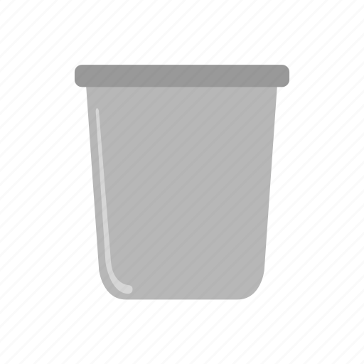 bucket, container, drawing, paint, painting, roller icon