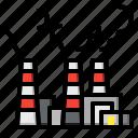 building, buildings, chimneys, construction, factory, industrial, industry