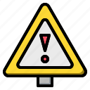 alert, danger, exclamation, mark, signs, triangle, warning