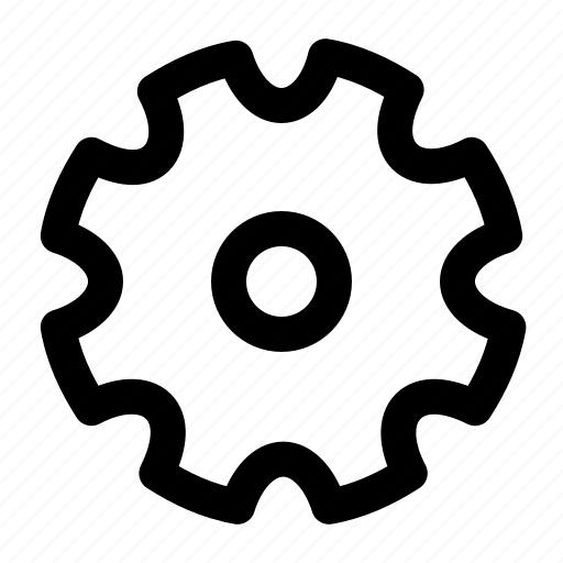 cog, construction, engine, engineering, gear, machine icon