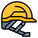 construction, helmet, safety, tool icon