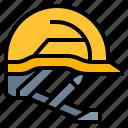 construction, helmet, safety, tool
