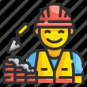 profession, builder, building, construction, labourer, labour, workman icon