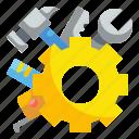 cogwheel, construction, engineer, gear, maintenance, tools