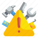 caution, danger, exclamation, security, signaling, triangle, warning icon