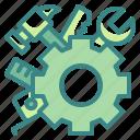 cogwheel, construction, engineer, gear, industry, maintenance, tools