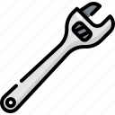 construction, spanner, tool, tools, worker, wrench icon