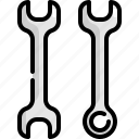 construction, repair, spanner, tool, tools, worker, wrench icon