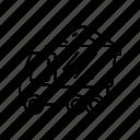 construction, estate, dumper, truck, vehicle