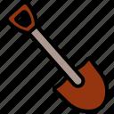 dig, tool, construction, shovel, gardening
