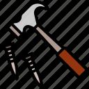 hammer, nail, repair, construction, mechanic