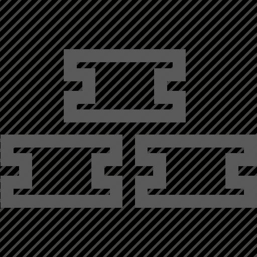 build, construction iron, rebar, tools icon