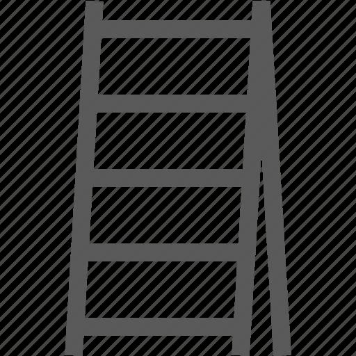 ladder, stepladder, tool, up icon