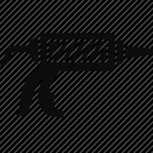 caulk, caulk gun, construction, tool icon
