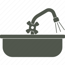 plumber, repairs, service, sink icon