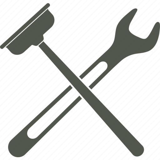 plumber, plunger, service, tools, wrench icon